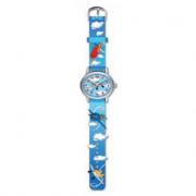 Kids watch orologio aereo blu