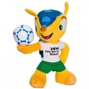 Mascotte Ufficiale Mondiali 2014 Fuleco peluche