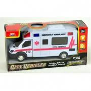 Ambulanza luci e suoni cm. 18