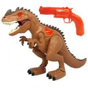 Dinosauro elettronico con pistola bersaglio