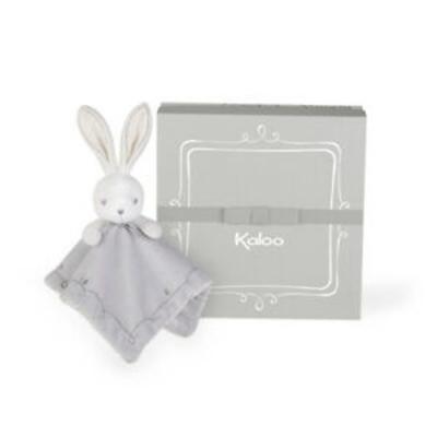 Doudou coniglietto grigio perle