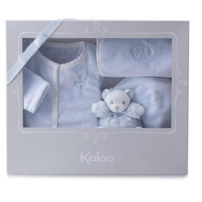 Valigetta regalo 4 pezzi azzurro Kaloo perle