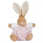 Coniglio plume rosa piccolo cm. 18 Kaloo