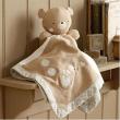 Pure Love Orsetto fazzoletto Doudou Teddy&Ele cm. 40x40