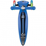 Globber- primo monopattino blu con luci