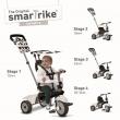 Triciclo smartrike vanilla 3 ruote