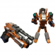 Robot trasformabile Galaxy warrior pistola