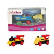 Locomotiva per treni in legno