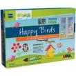 Window color uccellini felici