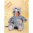 Costume Lucky Mouse tg. 6/9 mesi