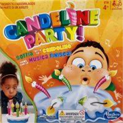 Candeline party gioco in scatola