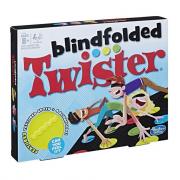 Twister blindfolded