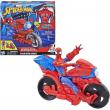 Spiderman elettronico con moto 30cm
