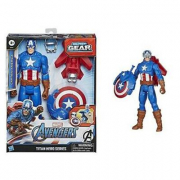Captain America Action Figure Blast Gear Hasbro