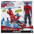 Spiderman Elicottero con personaggio cm. 30