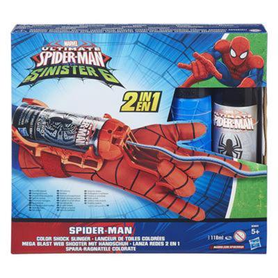 Spiderman guanto spara ragnatele