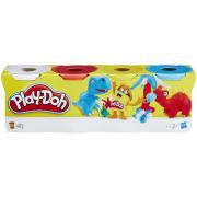 Play Doh 4 vasetti di pasta da modellare