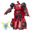 Transformers Power Hero Sideswipe & mini-con Windstrike