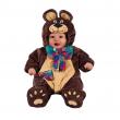 Happy teddy costume neonato