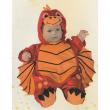 Draghetto costume carnevale 3/6 mesi