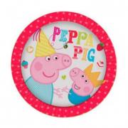 Piatti carta Peppa Pig
