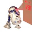 Sveglia con proiettore Star Wars R2D2