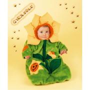 Costume Carnevale Peluche Girasole 6/9 Mesi