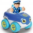 Bobby macchina della polizia con personaggio