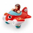 Piper aeroplano con pilota