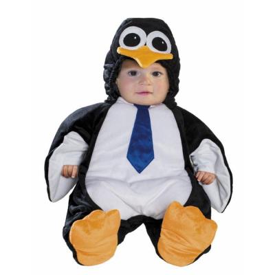 Costume Pinguino 3/6 mesi