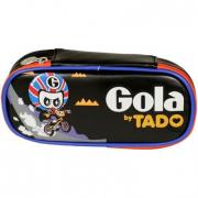 Astuccio Gola Carrel BMX Track Black/Orange/Grey