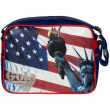 Borsa Gola Redford USA Liberty Royal/Red/Silver