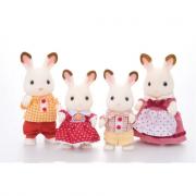 Famiglia conigli cioccolato Sylvanian