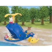 Sabbiera balena Splash & Play Sylvanian Families