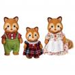 Sylvanian families famiglia panda rossi