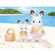 Conigli cioccolato al mare