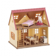 Casa starter house con 1 personaggio Sylvanian Families