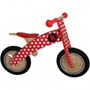 Bici pedagogica red dotty kiddimoto