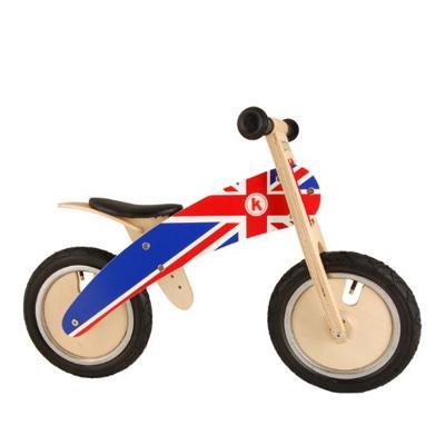 Bici pedagogica Union Jack kiddimoto