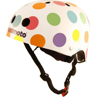 Casco Kiddimoto pastel dotty small