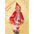 Costume Cappuccetto rosso baby tg. 0/1 anni