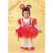 Costume Topolina Baby tg. 2/3 anni