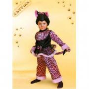 Costume Gattina Baby tg. 2/3 anni