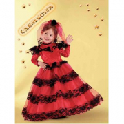 Costume Carmencita baby 2/3  anni
