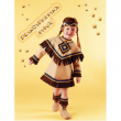 Costume Principessina Sioux baby 2/3 anni