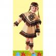 Principessina sioux costume 1/2 anni