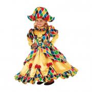 Costume Arlecchina 1/2 anni