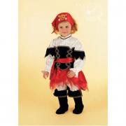 Costume corsarina baby 2/3 anni