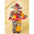 Costume Arlecchino baby tg. 2/3 anni