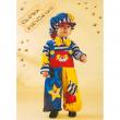 Clown birichino costume 0/1 anni
